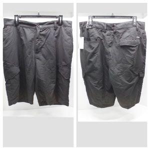 NWT Burnside Sz 36 Black Shorts
